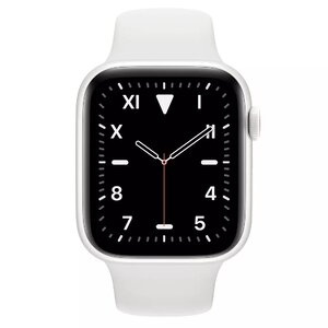 Apple Watch Series 5 LTE 44mm White Ceramic Case with White Sport Band (MWR72, MWQU2)