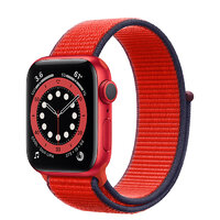 Apple Watch Series 6 GPS 40mm (PRODUCT)RED Aluminum Case with (PRODUCT)RED Sport Loop (M02C3)