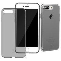 Чехол Baseus Simple Series Case (With-Pluggy) iPhone7 Plus/8 Plus Transparent black (ARAPIPH7P-A01)
