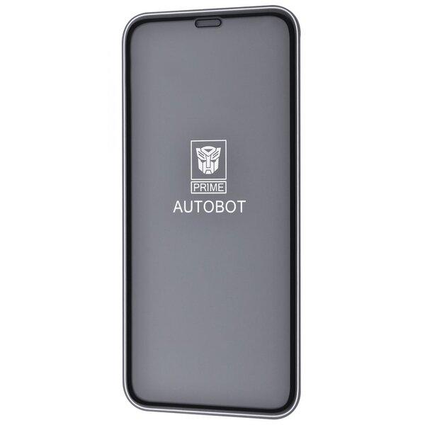 Защитное стекло PRIME AUTOBOT (WN) iPhone X/Xs/11 Pro (black)