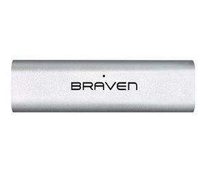 Портативная акустика Braven 710 Portable Wireless Speaker - Silver with Black (B710SBA) - фото 4