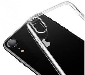Чехол-накладка для iPhone XR - Baseus Simplicity Series - Transparent (ARAPIPH61-B02) - фото 1