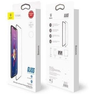 Защитное стекло Baseus 0.3mm Silk-screen All-screen Glass Film для Apple iPhone X/Xs - Black (SGAPIPHX-KC01)