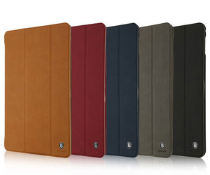 Чехол-подставка для iPad mini 4 - Baseus Teser Leather Case - Red (45685)
