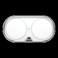 Беспроводное зарядное устройство Baseus Dual Wireless Charger White (WXXHJ-A0S)