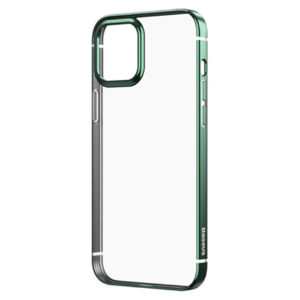 Чехол для iPhone 12/12 Pro - Baseus Shining Case (Anti-Fall) - Dark Green