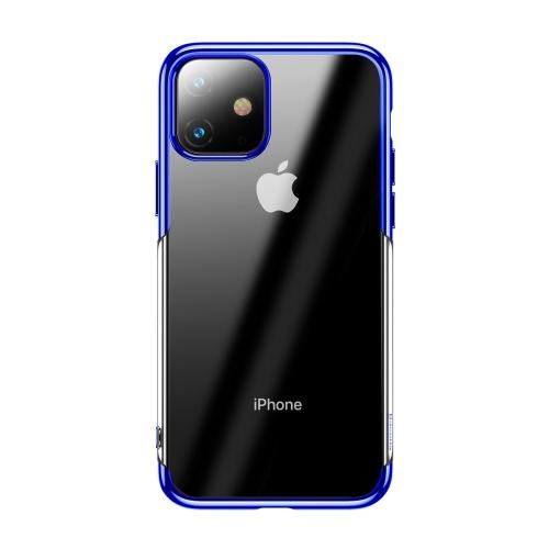Чехол Baseus Shining Case (TPU) iPhone 11 (Blue)