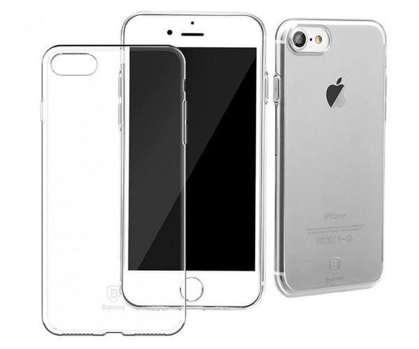 Чехол-накладка для iPhone 7/8 - Baseus Simple Series - Clear