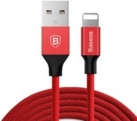 Кабель Baseus Yiven Lightning  Cable 2.0A (1.2m) red (CALYW-09)