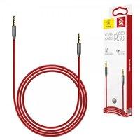 Аудио кабель Baseus Yiven M30 AUX Audio Cable 1m Black/Red (CAM30-B91)