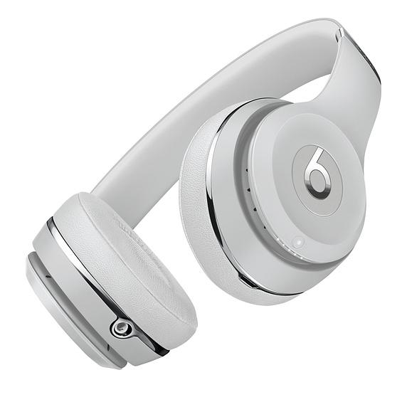 Беспроводные накладные наушники Beats by Dr.Dre Solo 3 Wireless - Satin Silver (MX452)