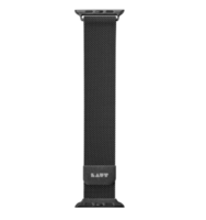 Ремешок миланского плетения Laut STEEL LOOP для Apple Watch 38/40 мм - Black (LAUT_AWS_ST_BK)