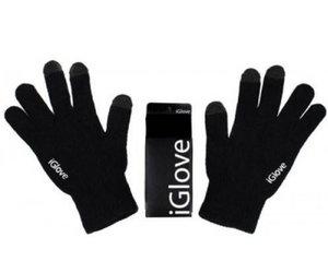 Перчатки для сенсорных экранов Touch iGlove - Black - фото 1