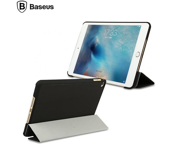 Чехол-накладка для iPad Air 2 - Baseus Business PU leather + PC Case - Black (44469)