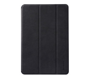 Чехол-накладка для iPad Air 2 - Baseus Business PU leather + PC Case - Black (44469)