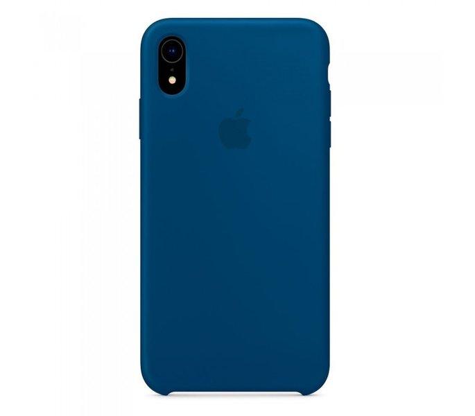 Чехол-накладка для iPhone Xr - Silicone Case OEM - Blue Horizon