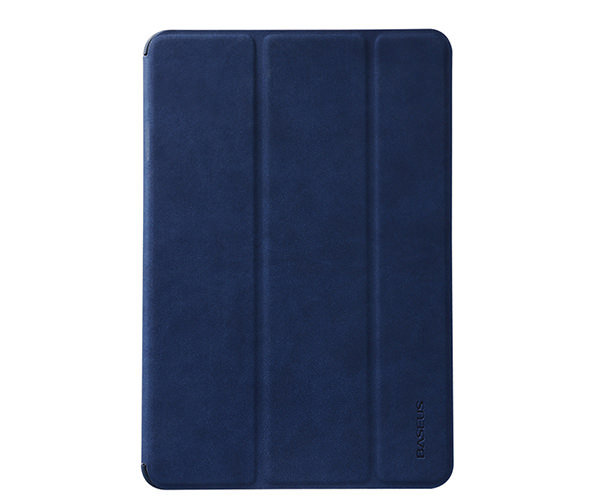 Чехол-накладка для iPad Air 2 - Baseus Business PU leather + PC Case - Navy (44472)
