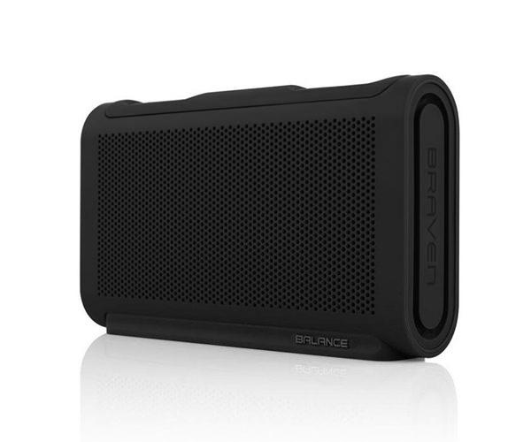 Портативная акустика Braven Balance Portable Bluetooth Speaker - Raven Black/Black/Black (BALBBB)