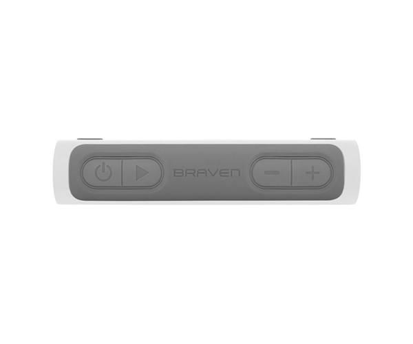 Портативная акустика Braven Balance Portable Bluetooth Speaker - Alpine White/Gray/Gray (BALWGG)