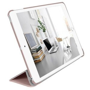 """Чехол-книжка Macally Protective Case and Stand для iPad 10.2"""" (2019/2020) - Rose Gold (BSTAND7-RS) - фото 1"""