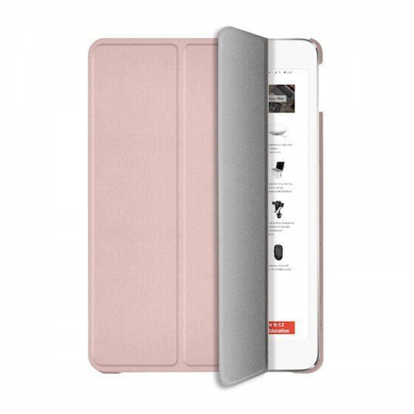 """Чехол-книжка Macally Protective Case and Stand для iPad 10.2"""" (2019/2020) - Rose Gold (BSTAND7-RS)"""