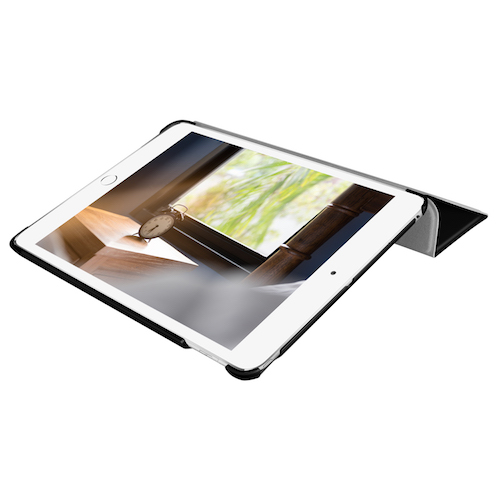 Чехол-подставка для iPad mini 5 (2019) - Macally Protective Case and Stand - Black (BSTANDM5-B)