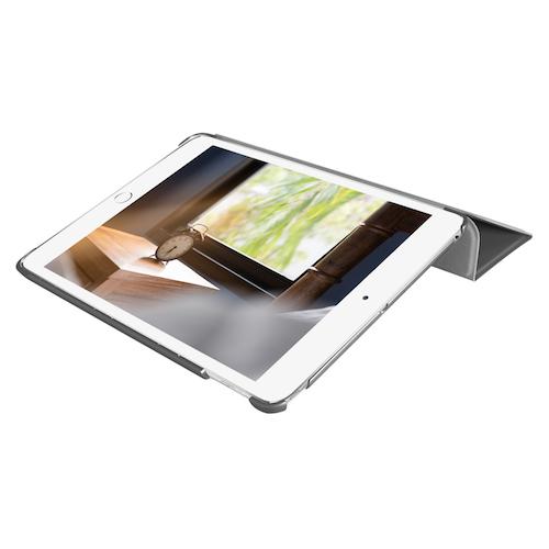 Чехол-подставка для iPad mini 5 (2019) - Macally Protective Case and Stand - Gray (BSTANDM5-G)