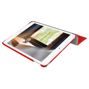 Чехол-подставка для iPad mini 5 (2019) - Macally Protective Case and Stand - Red (BSTANDM5-R) - фото 5