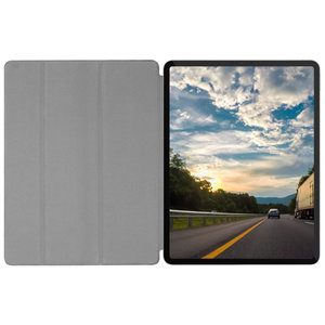 "Чехол-подставка для iPad Pro 12.9"" (2018) - Macally Smart Folio - Black (BSTANDPRO3L-B)"