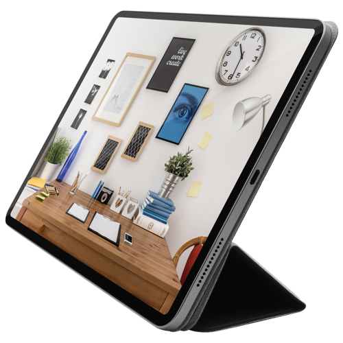 "Чехол-подставка для iPad Pro 11"" (2018) - Macally Smart Folio - Black (BSTANDPRO3S-B)"