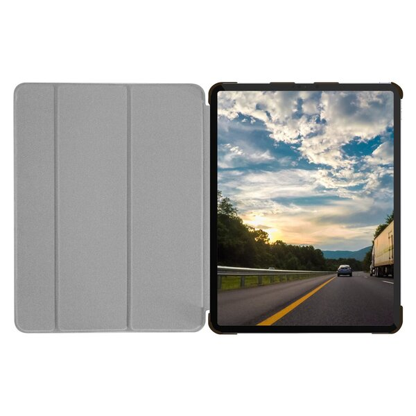 """Чехол-подставка для iPad Pro 12.9"""" (2020/2018) - Macally Protective Case and Stand - Brown (BSTANDPRO4L-BR)"""