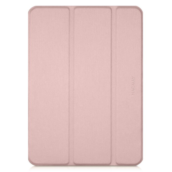 """Чехол-подставка для iPad Pro 12.9"""" (2020/2018) - Macally Protective Case and Stand - Pink (BSTANDPRO4L-RS)"""