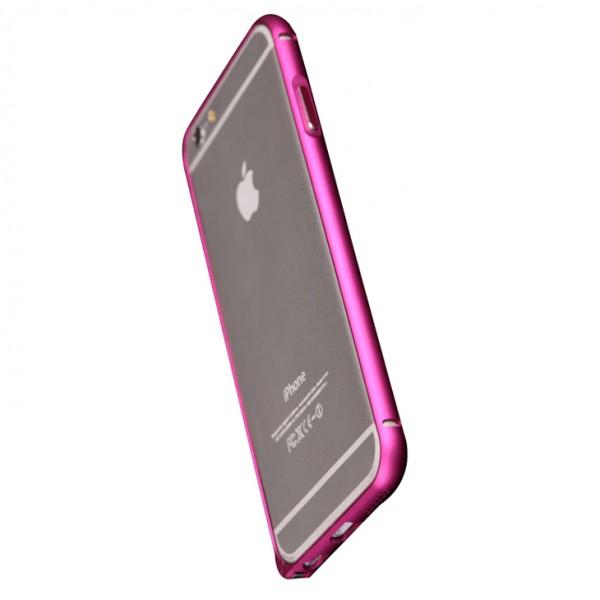 Чехол-бампер для iPhone 6 - Aluminum - Pink