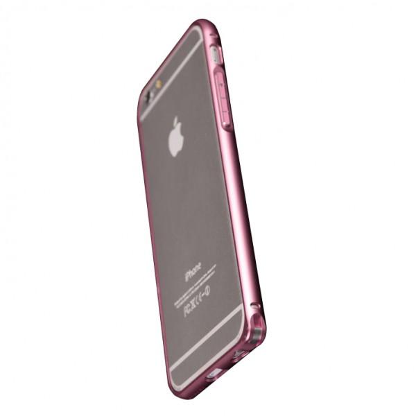 Чехол-бампер для iPhone 6 Plus - Aluminum - Cyan
