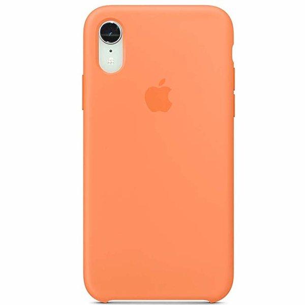 Чехол-накладка для iPhone Xr - Silicone Case OEM - Papaya