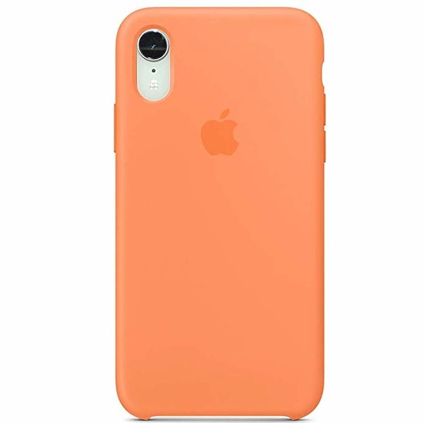 Чехол-накладка для iPhone Xr - Silicone Case OEM - Papaya