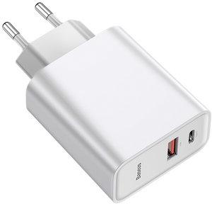 Сетевое з/у Baseus Speed PPS 30W Type-C + USB White (CCFS-C02)