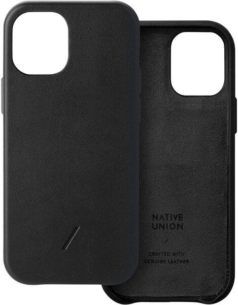 Чехол-накладка для iPhone 12 Pro Max - Native Union Clic Classic Case - Black (CCLAS-BLK-NP20L)
