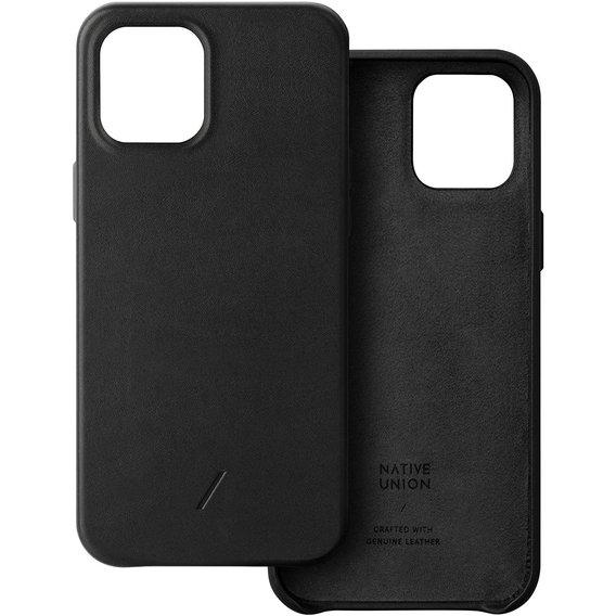 Чехол-накладка для iPhone 12/12 Pro - Native Union Clic Classic Case - Black (CCLAS-BLK-NP20M)