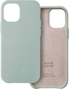 Чехол-накладка для iPhone 12/12 Pro - Native Union Clic Classic Case - Sage (CCLAS-GRN-NP20M) - фото 1