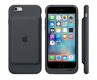 Чехол-аккумулятор для iPhone 6/6s - Smart Battery Case - Charcoal Gray (MGQL2)