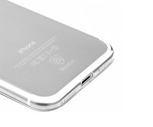 Чехол-накладка для iPhone 7/8 - Baseus Simple Series Case - Clear Transparent (ARAPIPH7B02) - фото 2