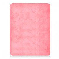 "Чехол-подставка для iPad 9.7"" [2017-2018] - Comma Leather Case with Pen Holder Series - Pink"