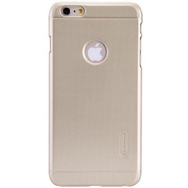 Чехол-накладка для iPhone 6/6s - Nillkin Super Frosted Shield - Gold