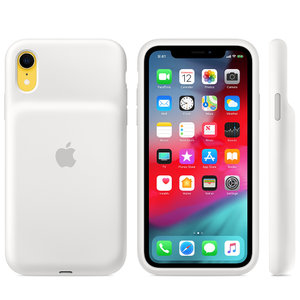 Чехол для iPhone XR - Apple Smart Battery Case - White (MU7N2) - фото 2