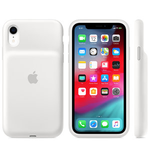 Чехол для iPhone XR - Apple Smart Battery Case - White (MU7N2) - фото 3