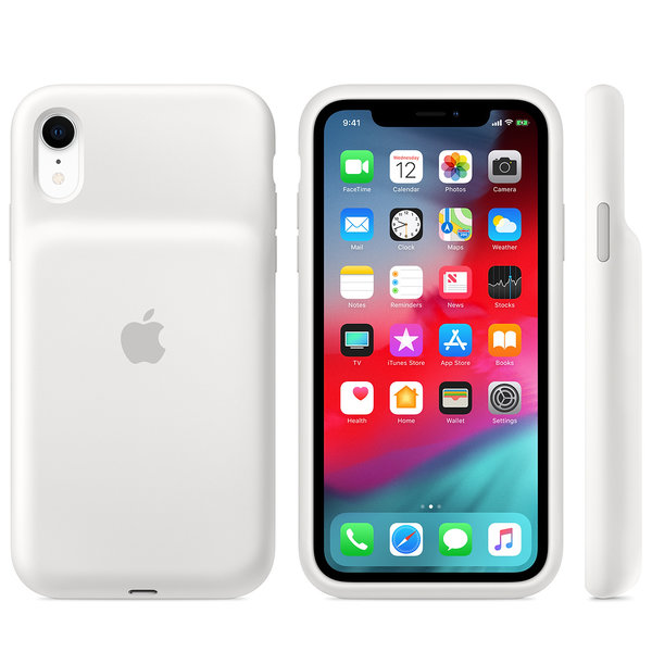 Чехол для iPhone XR - Apple Smart Battery Case - White (MU7N2)