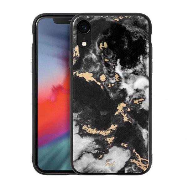 Чехол для iPhone XR (6.1'') LAUT MINERAL GLASS Black (LAUT_IP18-M_MG_MB)
