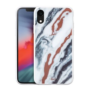 Чехол для iPhone XR (6.1'') LAUT MINERAL GLASS White (LAUT_IP18-M_MG_MW)