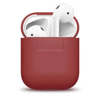 Чехол Elago Silicone Case Red for Airpods (EAPSC-RED)
